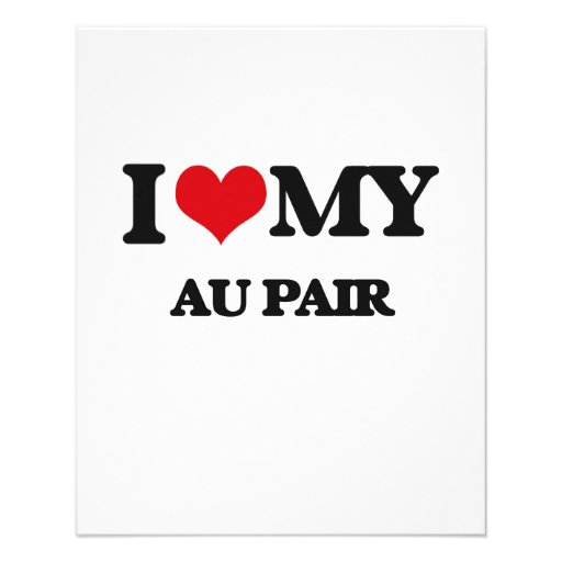 I love my Au Pair Full Color Flyer