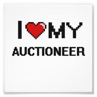 I love my Auctioneer Photo Art