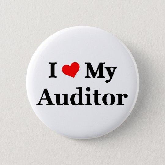 I love my Auditor 6 Cm Round Badge
