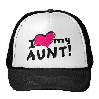 I love my aunt! cap