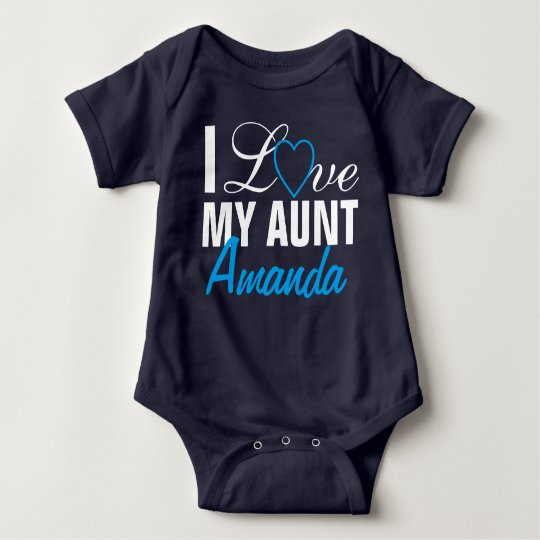 I Love My Aunt-The Aunt Name. Custom Made