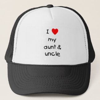 I Love My Aunt & Uncle Trucker Hat