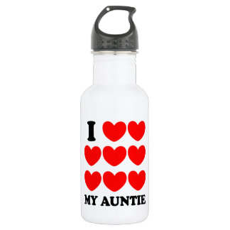 I Love My Auntie 532 Ml Water Bottle