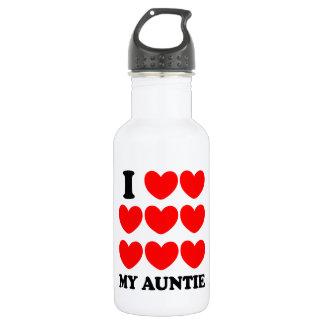 I Love My Auntie 532 Ml Water Bottle