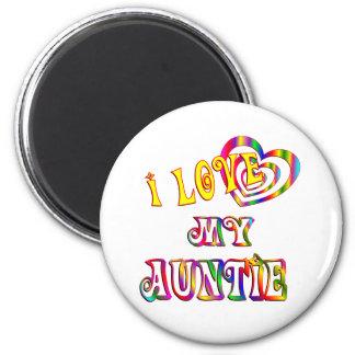 I Love My Auntie Fridge Magnet