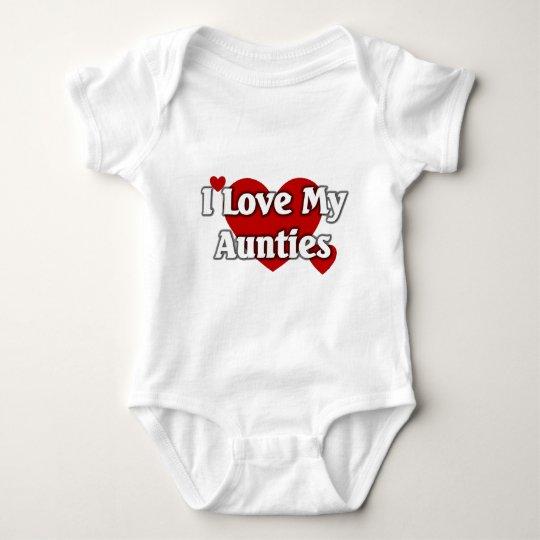 I love my Aunties Baby Bodysuit