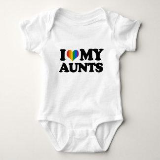 I Love My Aunts Baby Bodysuit