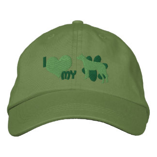 I Love my Australian Cattle Dog Embroidered Hat