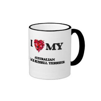 I love my Australian Jack Russell Terrier Ringer Mug