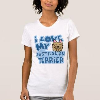 I Love My Australian Terrier T-Shirt