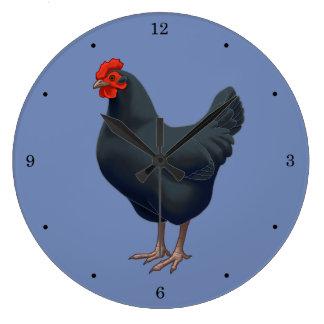 I Love My Australorp Chicken Large Clock