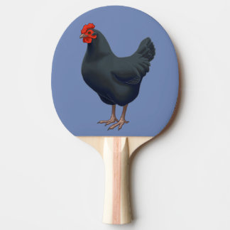 I Love My Australorp Chicken Ping Pong Paddle