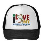 I Love My Autistic Children 2 AUTISM AWARENESS Cap