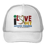 I Love My Autistic Children 2 AUTISM AWARENESS Hats