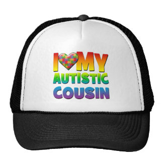 I Love My Autistic Cousin png Hat