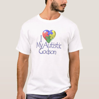 I Love My Autistic Godson T-Shirt