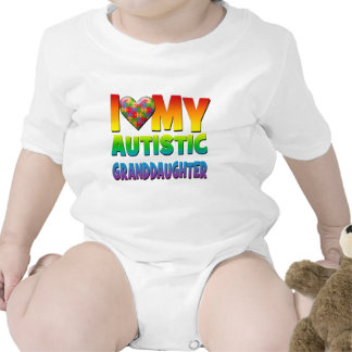 I Love My Autistic Granddaughter.png Bodysuit