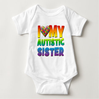 I Love My Autistic Sister.png Shirt