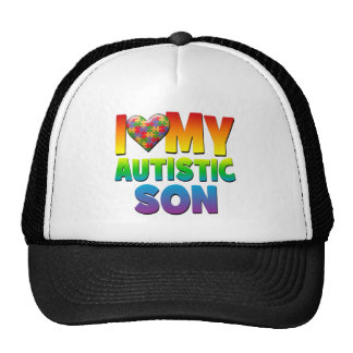 I Love My Autistic Son.png Trucker Hats