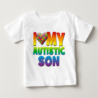 I Love My Autistic Son.png Tee Shirt