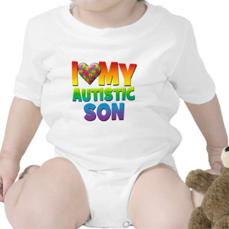 I Love My Autistic Son.png Shirts