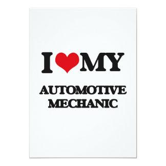 I love my Automotive Mechanic Custom Announcement