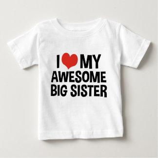 I Love My Awesome Big Sister Shirts