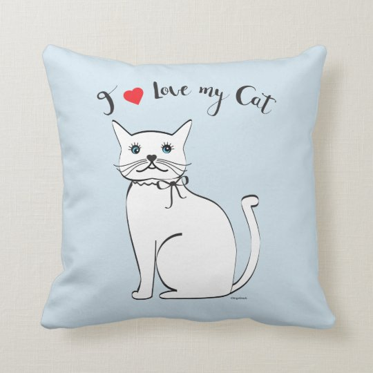 I love my awesome Cat, Stylish Cushion