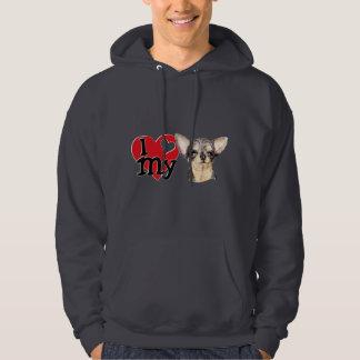 I Love My B&T Chihuahua Hoodie
