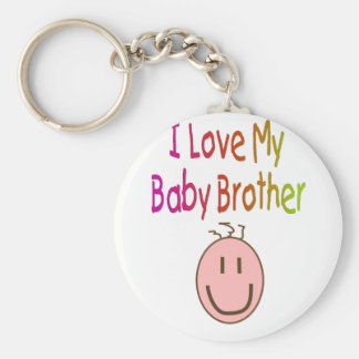 I love my Baby Brother--Child s T-Shirt and Gifts Keychain