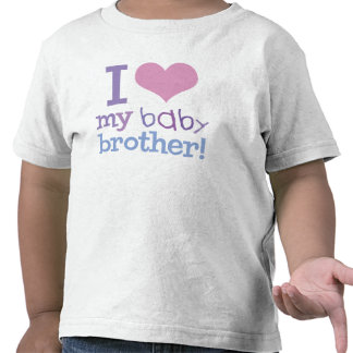 I Love My Baby Brother T-shirt