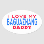 I Love My Baguazhang Daddy Stickers