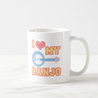 I Love My Banjo Coffee Mug