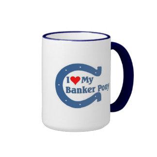 I love my Banker Pony Ringer Mug