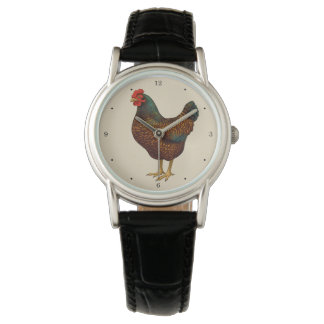 I Love My Barnevelder Chickens Watch