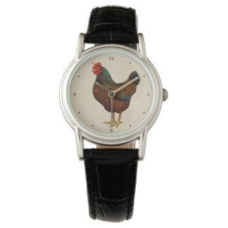 I Love My Barnevelder Chickens Watch