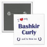 I Love My Bashkir Curly (Male Horse) Pin
