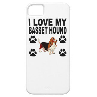 I Love My Basset Hound Barely There iPhone 5 Case