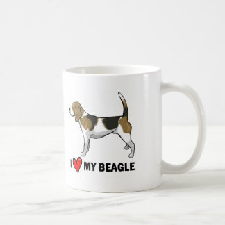 I Love My Beagle Coffee Mug
