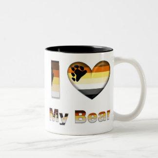 I Love My Bear / Cub Mugs