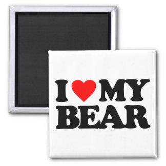 I LOVE MY BEAR FRIDGE MAGNETS