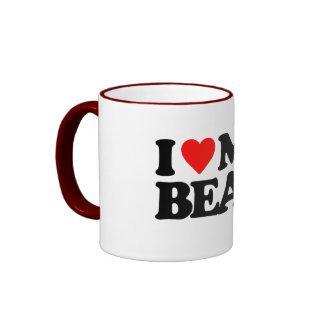 I LOVE MY BEAR RINGER COFFEE MUG