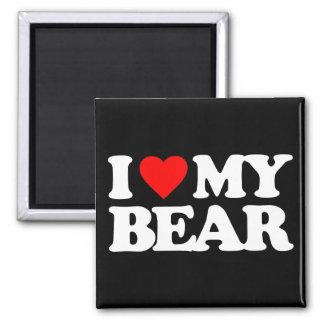 I LOVE MY BEAR REFRIGERATOR MAGNET