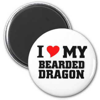 I love my Bearded Dragon Magnet