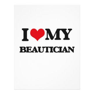 I love my Beautician Custom Flyer