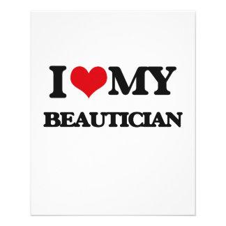 I love my Beautician Flyer Design