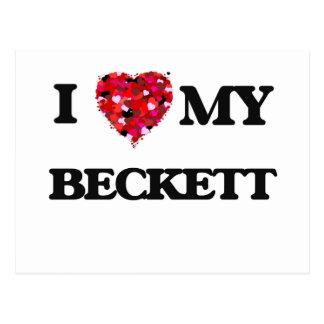 I love my Beckett Postcard