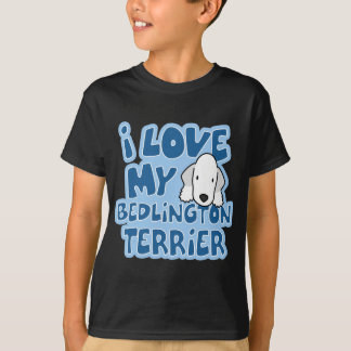 I Love My Bedlington Terrier Child's T-Shirt