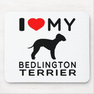 I Love My Bedlington Terrier. Mouse Pad