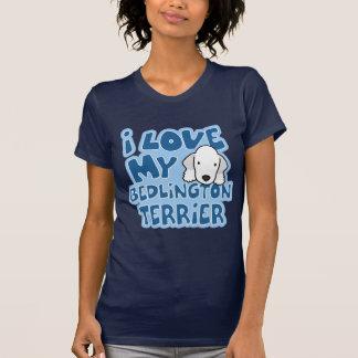 I Love My Bedlington Terrier TShirt